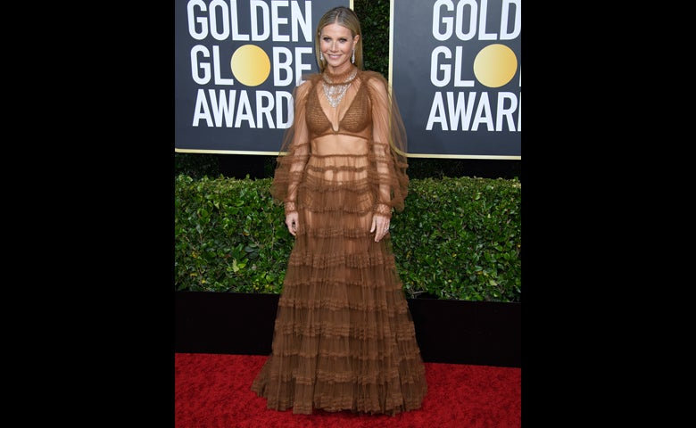 Gwyneth Paltrow on the Red Carper, Golden Globes 2020