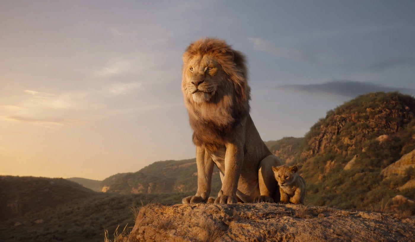 """A scene from """"The Lion King"""", 2019"""