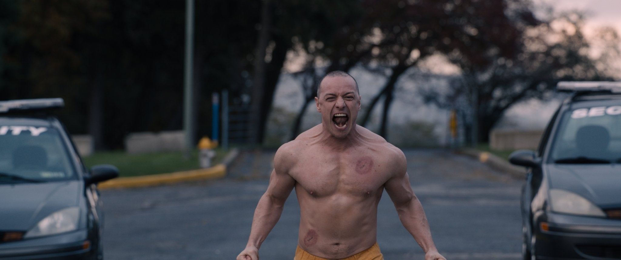 "A scene from ""Glass"", 2019"