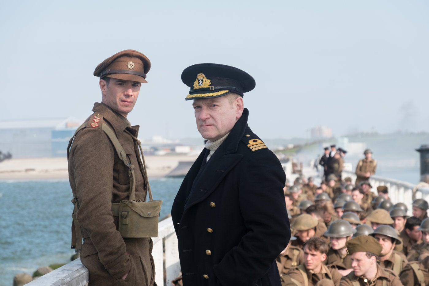 A scene from director Christopher Nolan's Dunkirk