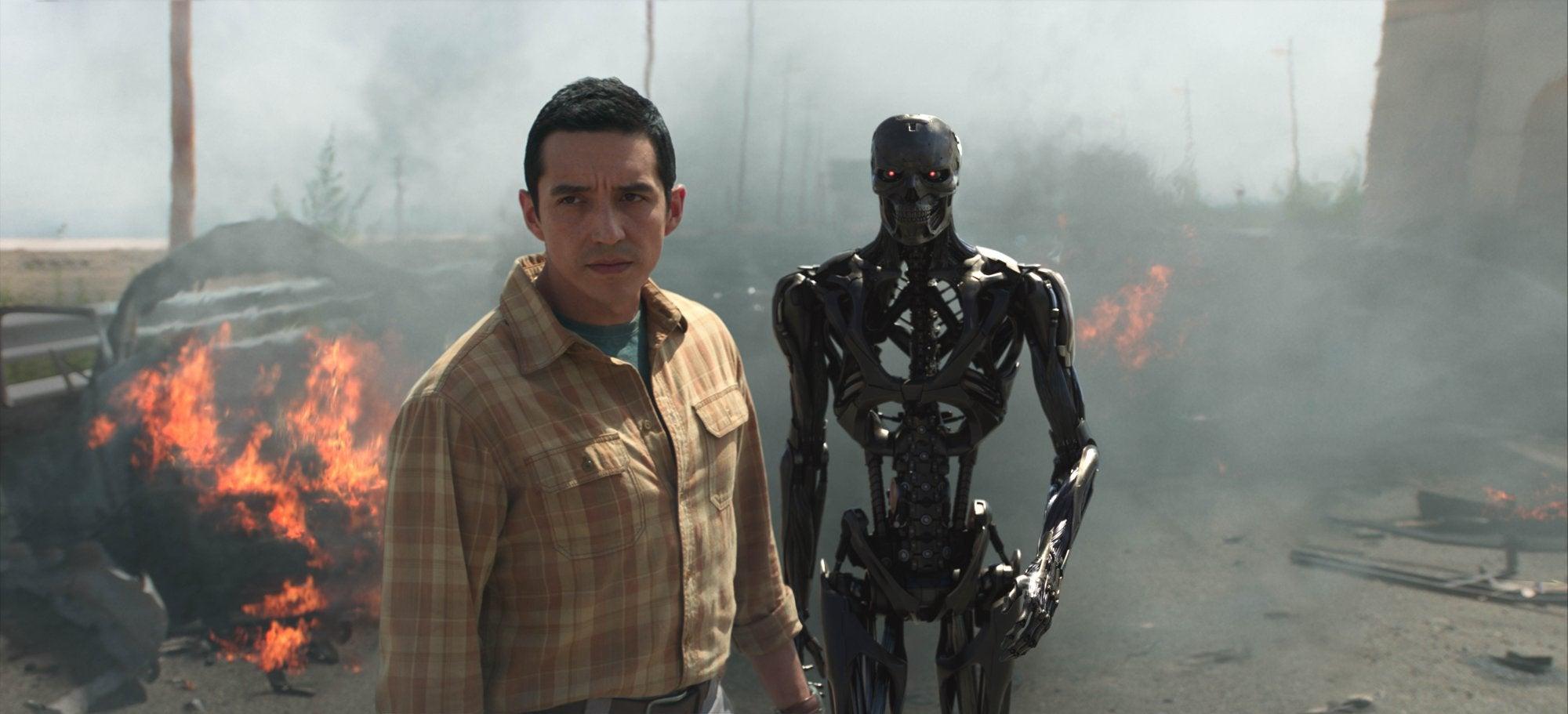 """Scenes from """"Terminator: Dark Fate"""", 2019"""