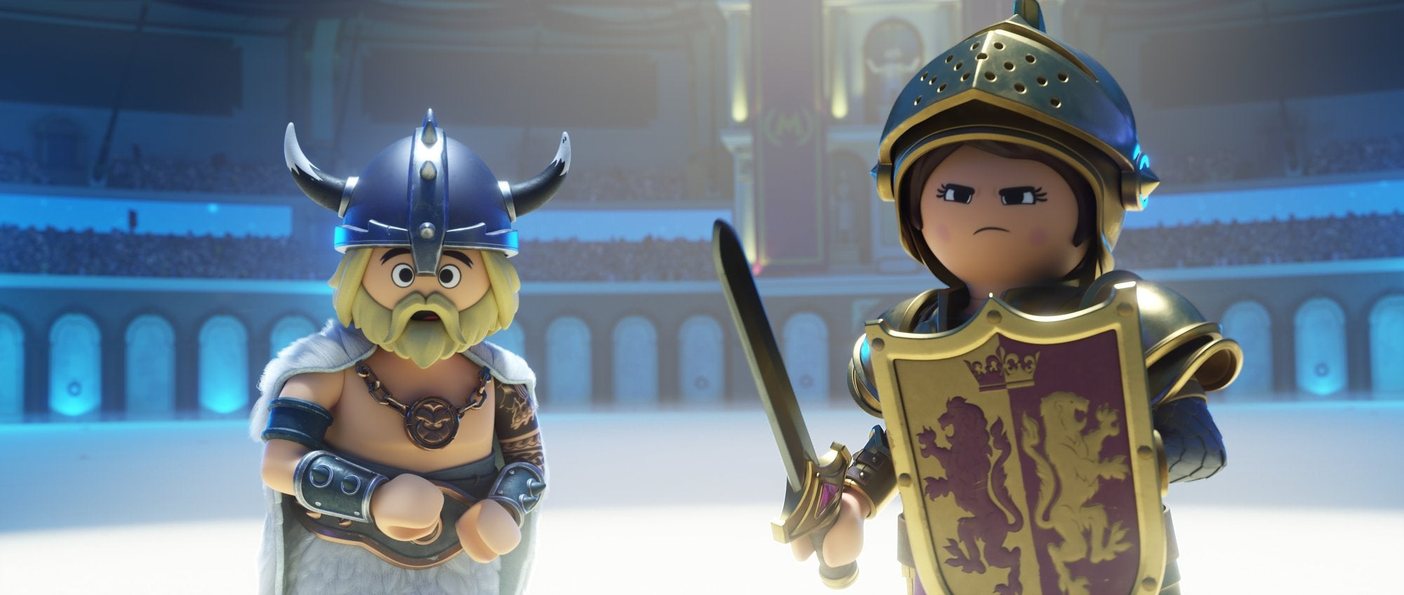 """A scene from """"Playmobil"""", 2019"""