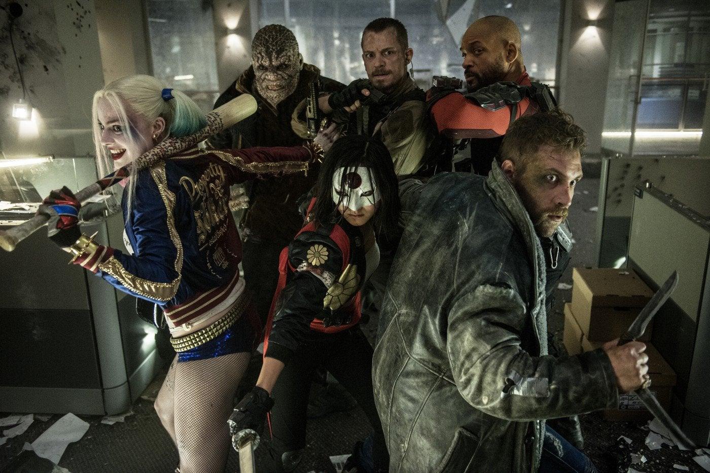"A scene fom WB-DC ""Suicide Squad"""