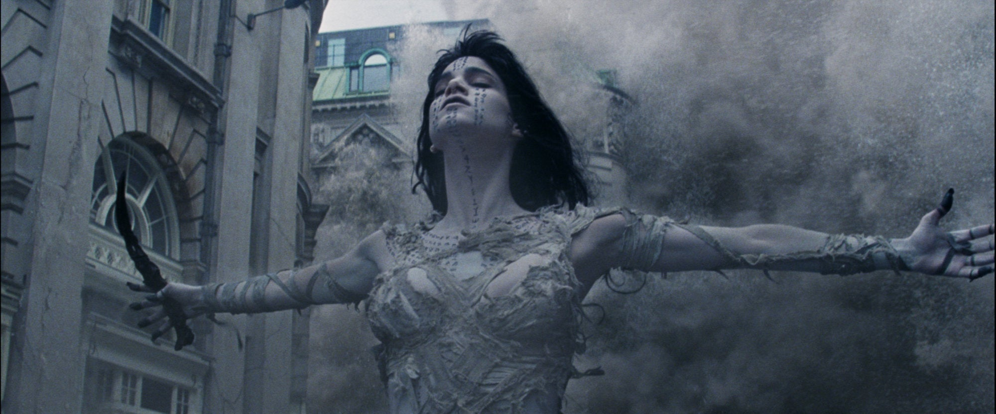 """Actress and dancer Sofia Boutella in a scene from """"The Mummy"""""""