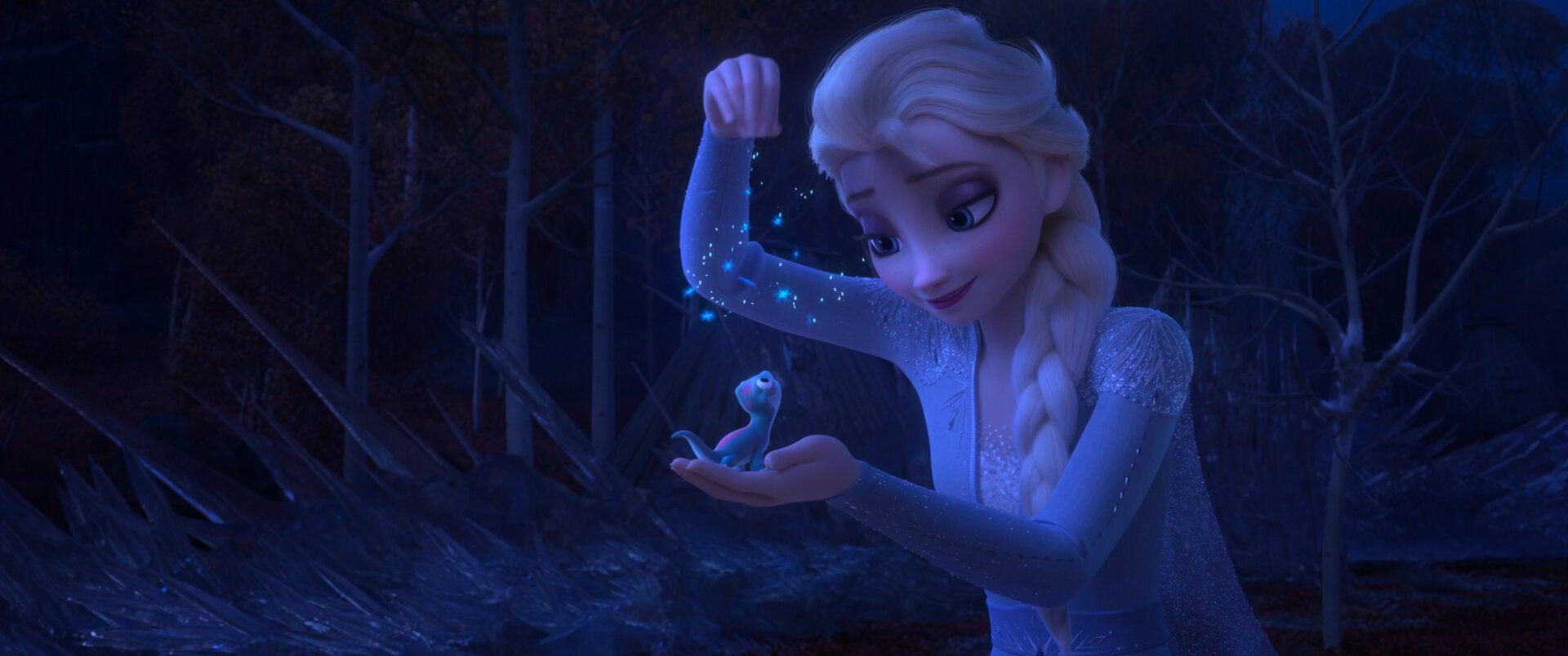 """A scene from """"Frozen II"""", 2019"""