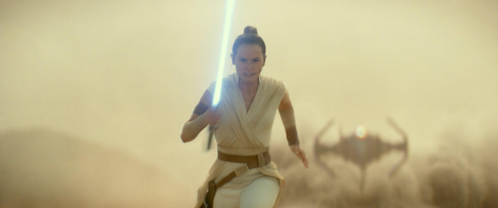 "Daisy Ridley in a scene from ""Rise of Skywalker"", 2019"