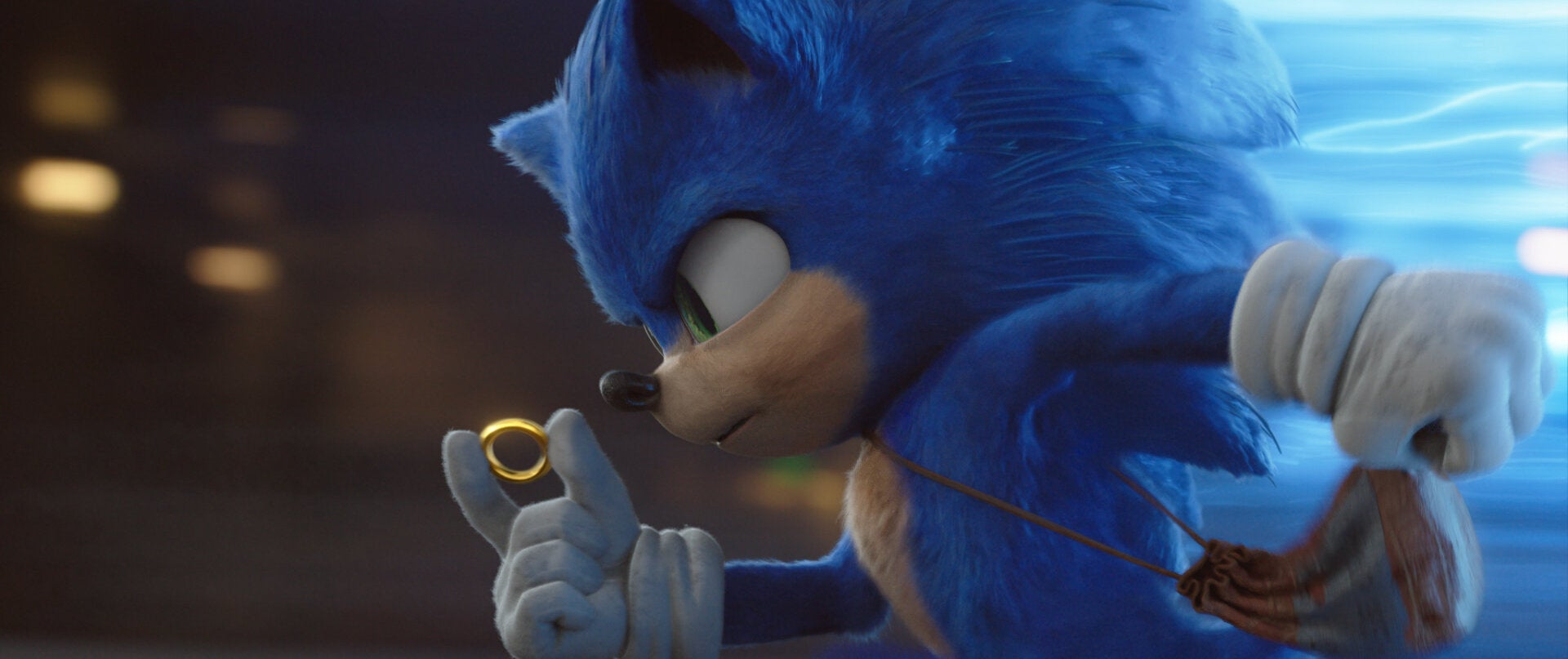 """A scene from """"Sonic the Hedgehog"""", Paramount, 2020"""