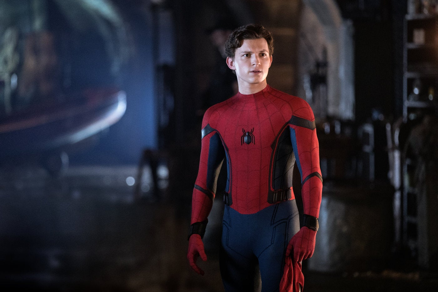 """A scene from """"Spider Man Far From Home"""", 2019"""