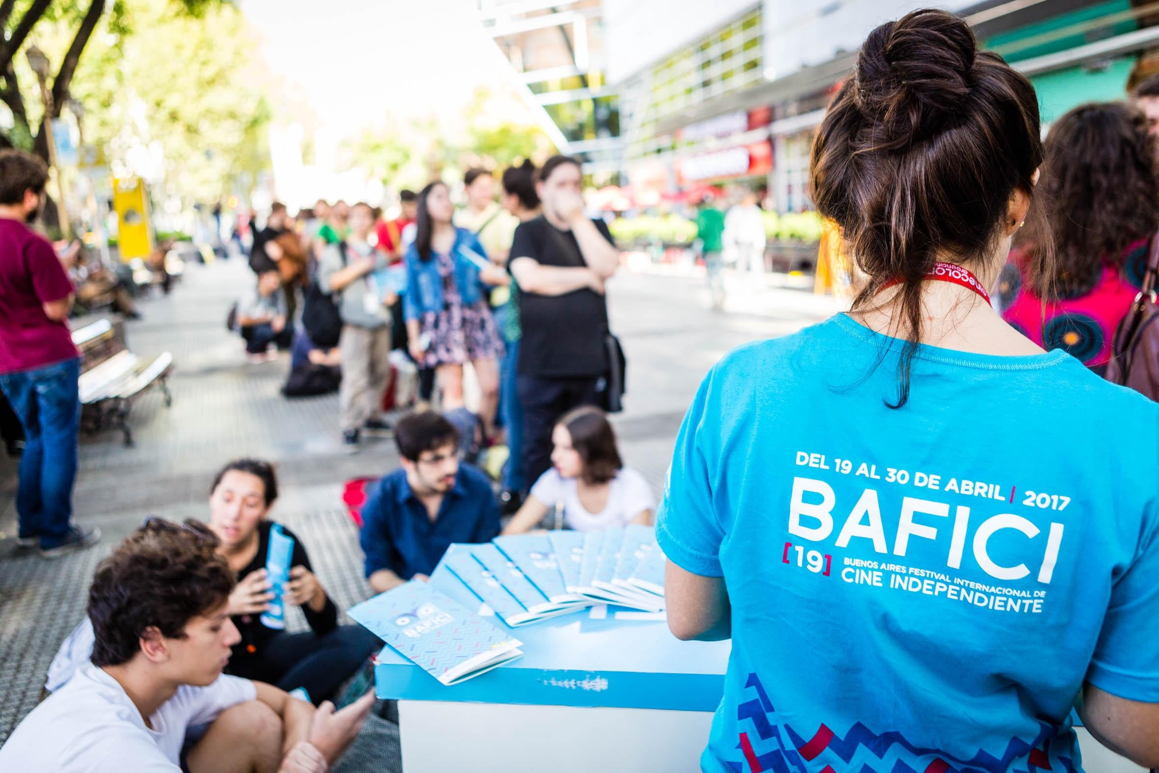 The scene at the 19th BAFICI festival, Buenos AIres, april 2017