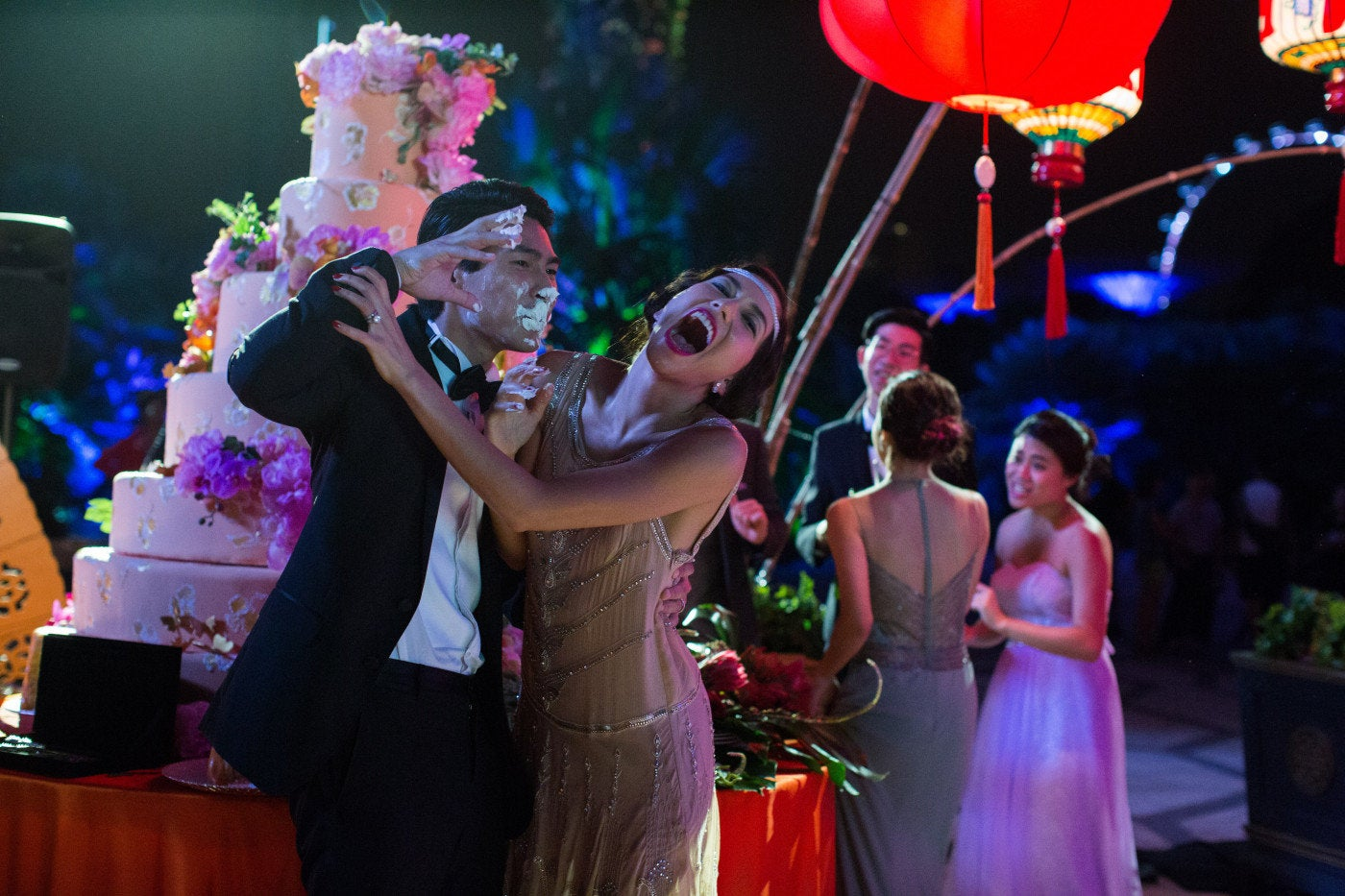 "A scene from ""Crazy Rich Asians"""