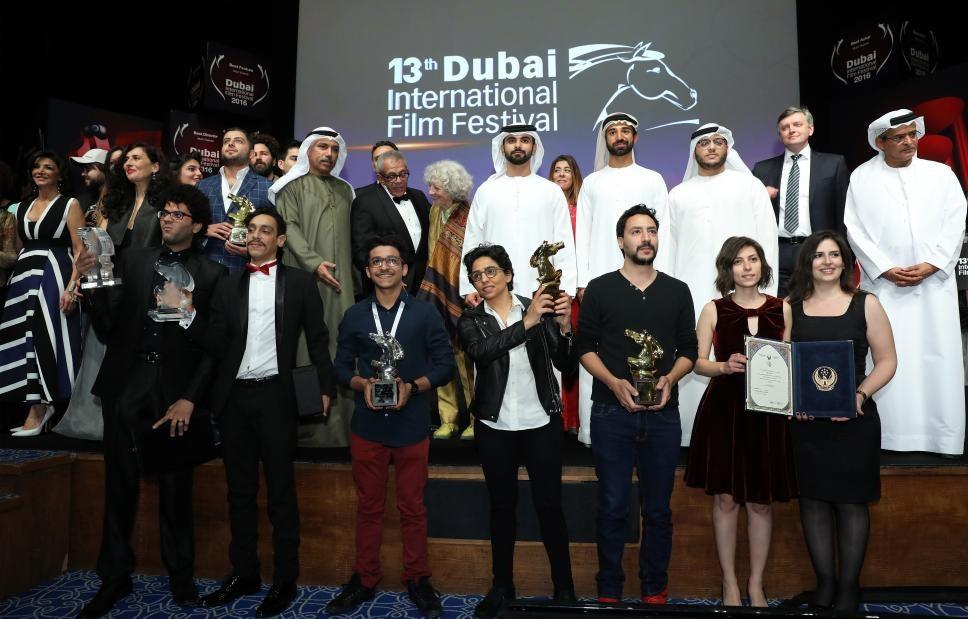Closing Ceremony of the Dubai Film festival 2016