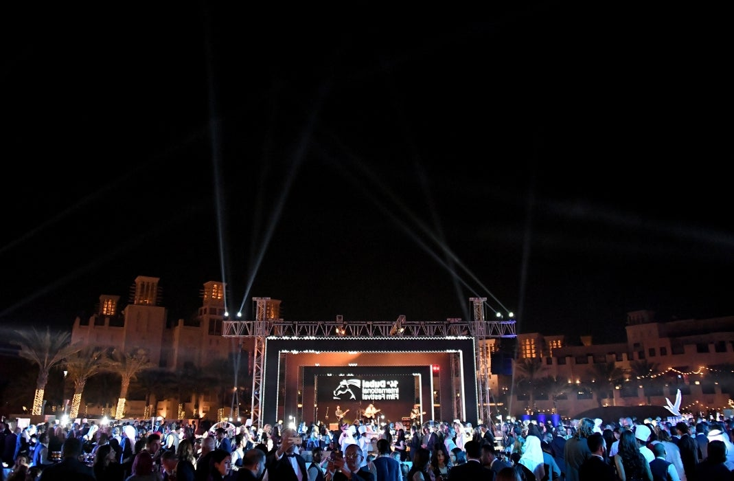 Opening night at the Dubai Fim Festival 2017