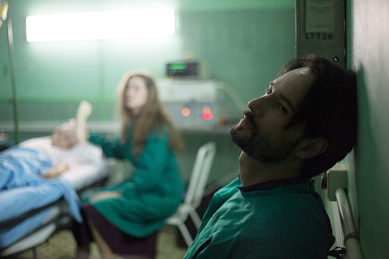"Rodrigo Santoro and Milda Gecaite in ""A Translator"" (2018)"