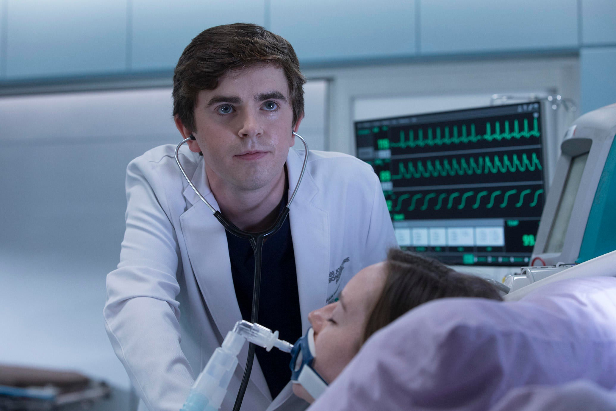 """A scene from the TV show """"The Good Doctor"""""""