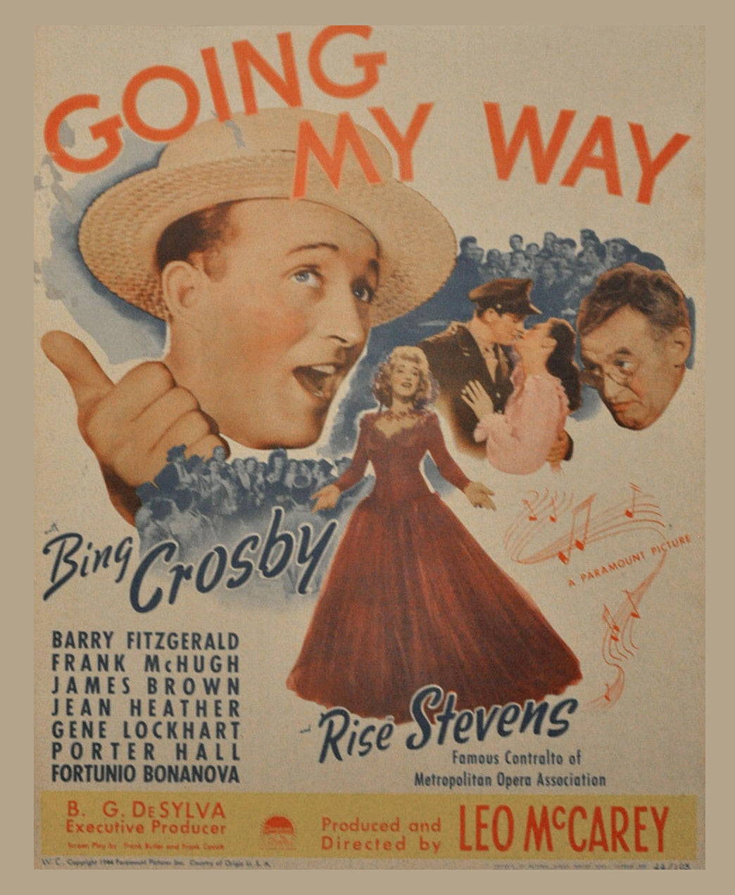 1945 - Going My Way movie poster