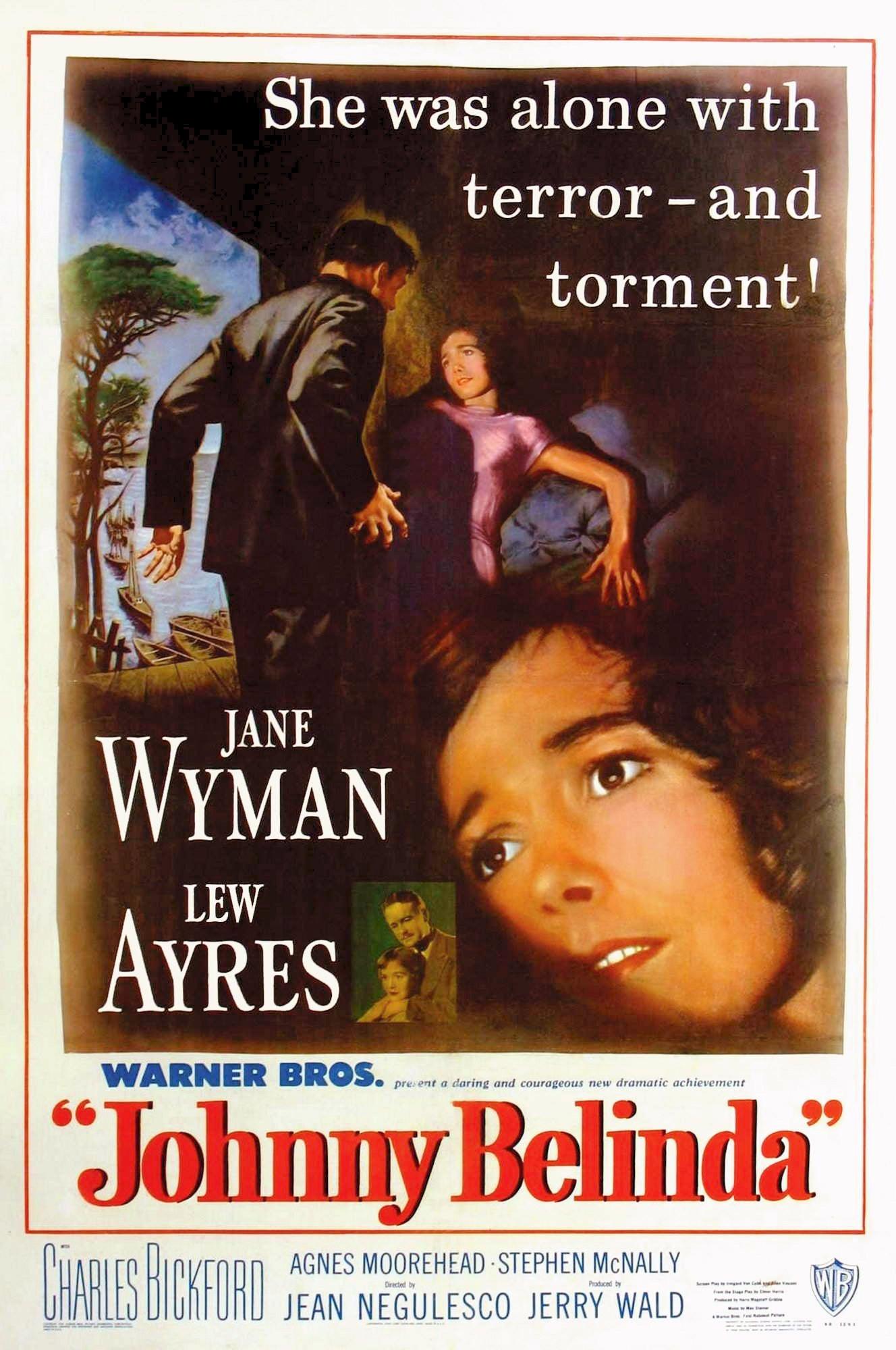 Poster from the Golden Globe winning film Johnny Belinda