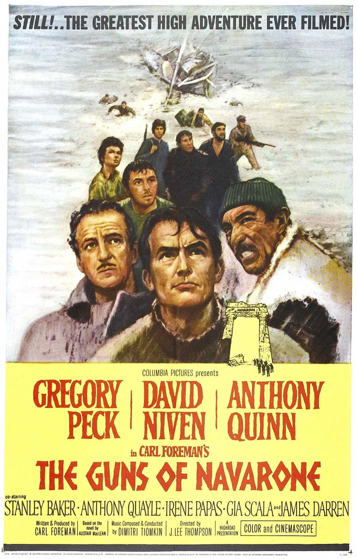 The Guns of Navarone movie poster