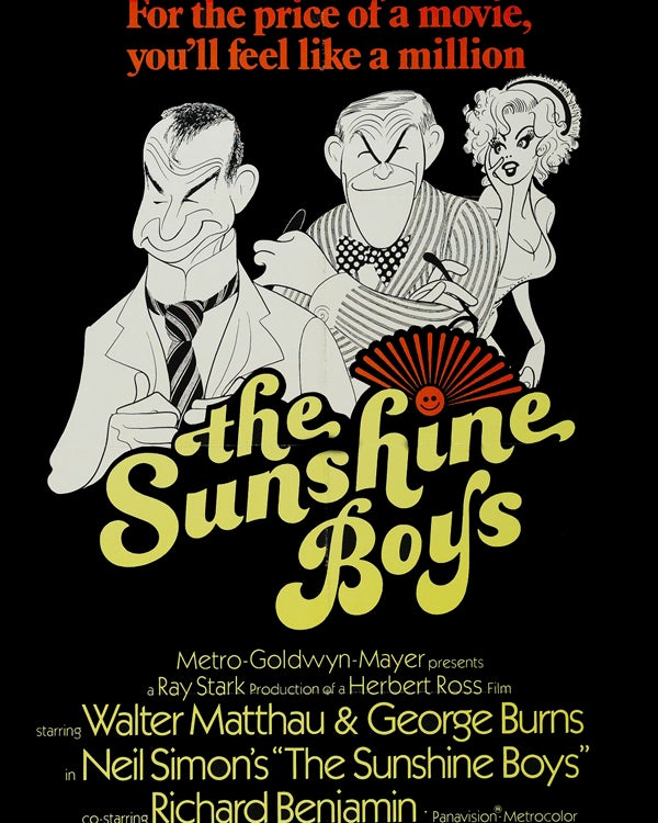 The Sunshne Boys movie poster
