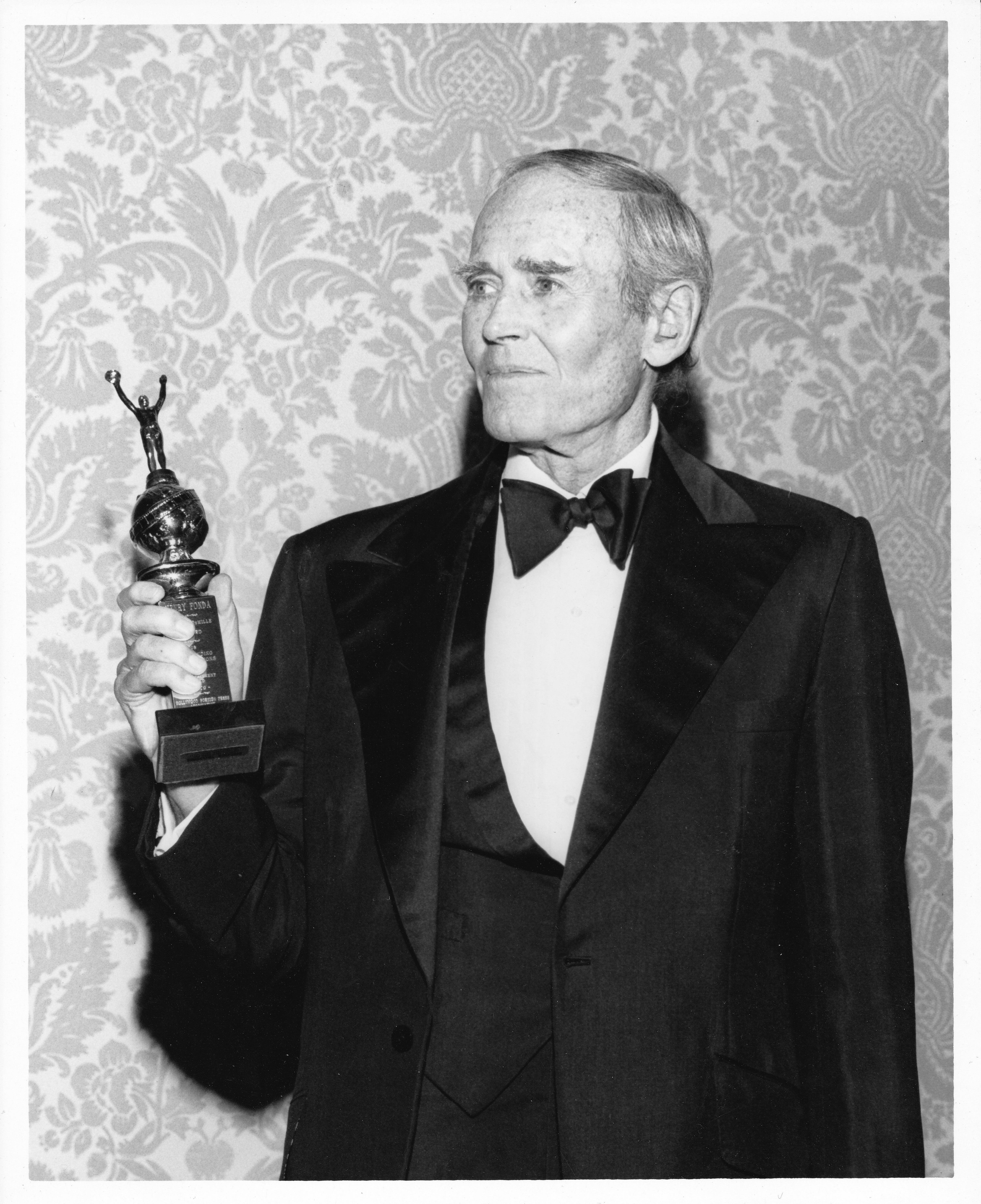 Actor Henry Fodna, Golden Globe winner and Cecil B.deMille recipient