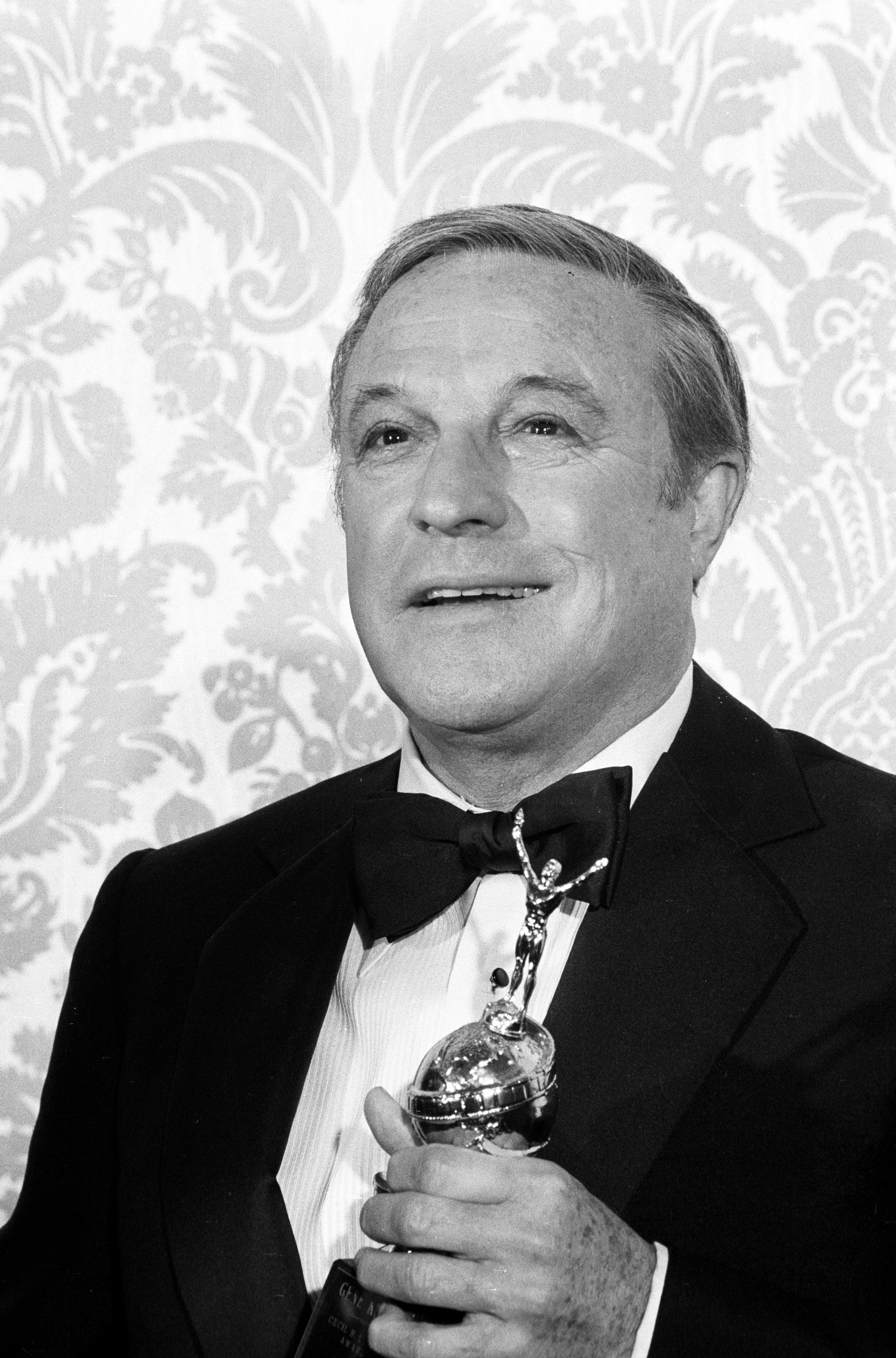 Actor, adncer, director Gene Kelly, Golen Globe nominee, Cecil B. deMille recipient