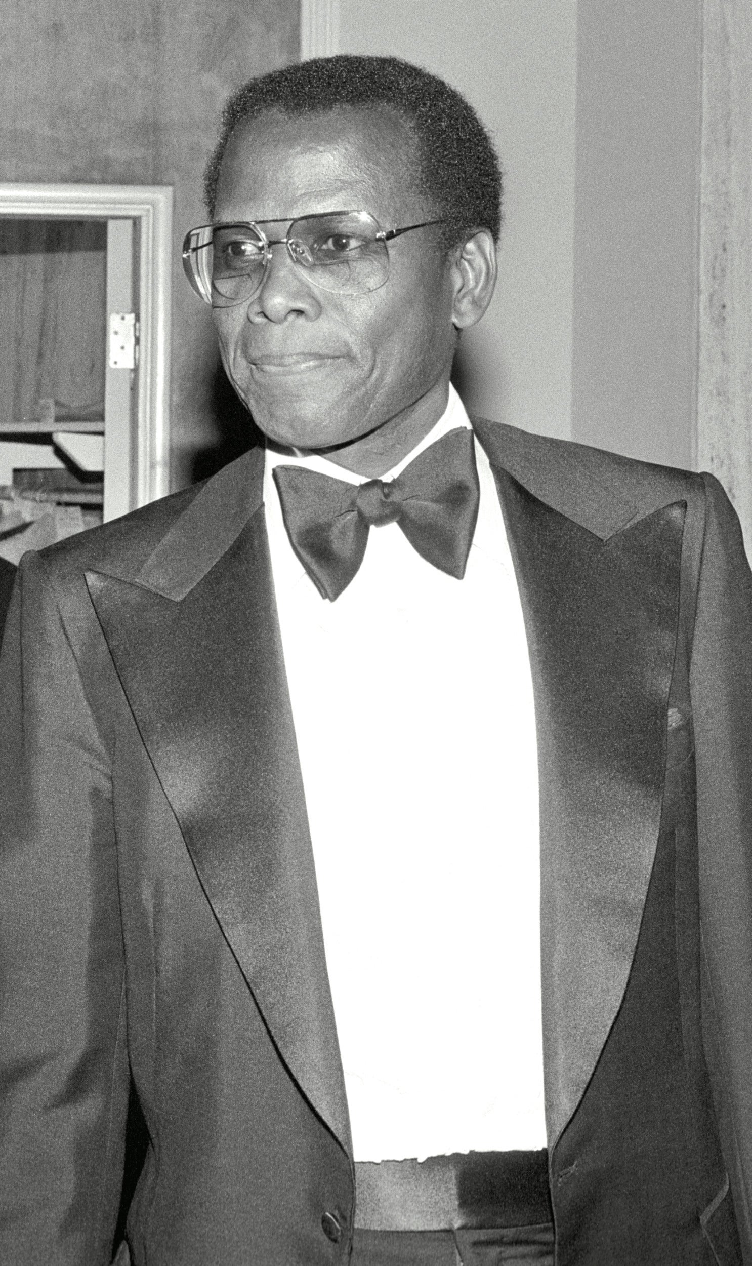 Actor and producer Sidney Poitier, Golden Globe winner and Cecil B. deMille award recipient