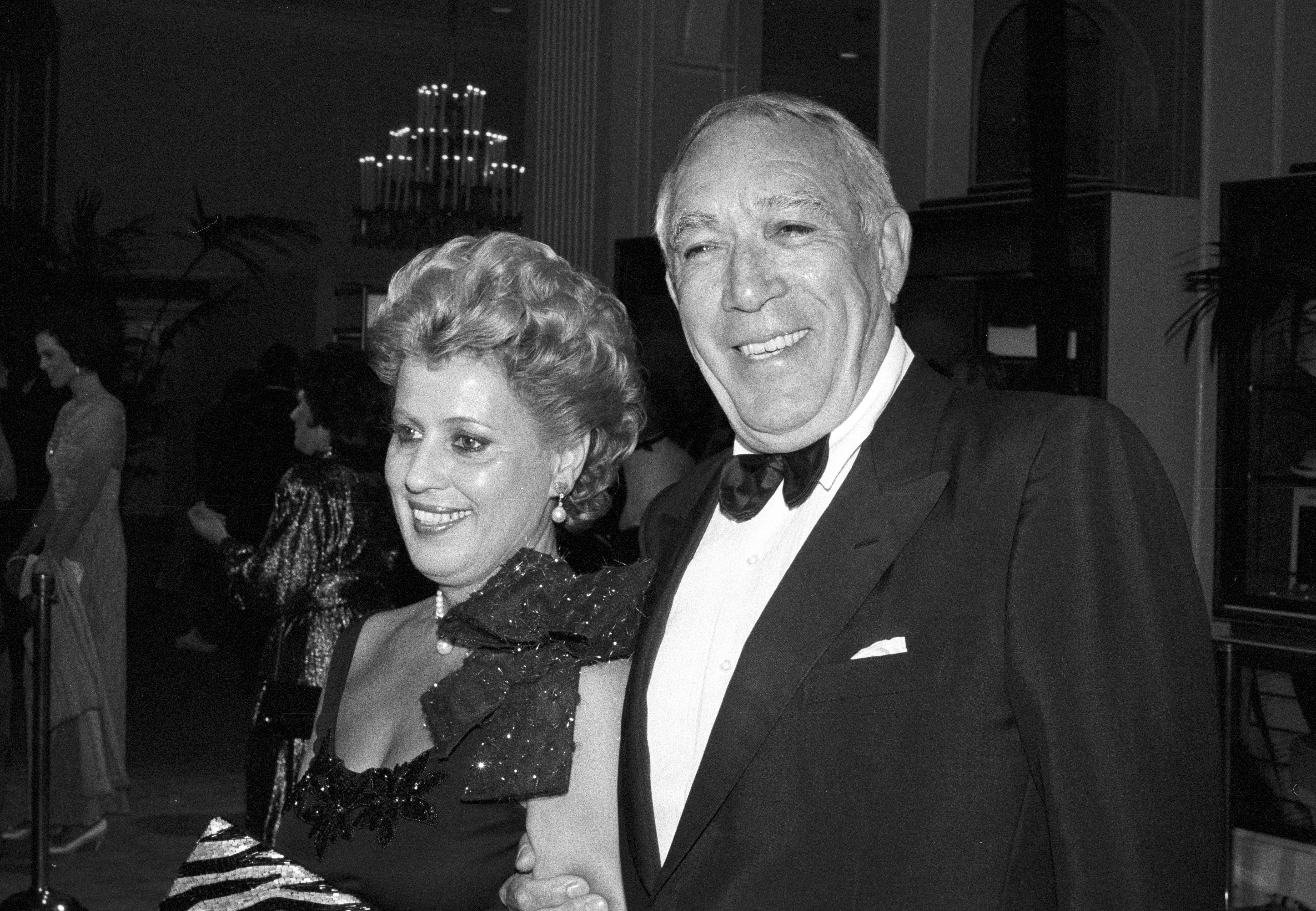 Actor Anthony Quinn, Golden Globe winner and Cecil B.deMille recipient