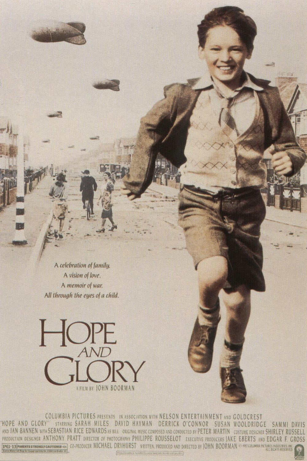 Hope and Glory movie poster