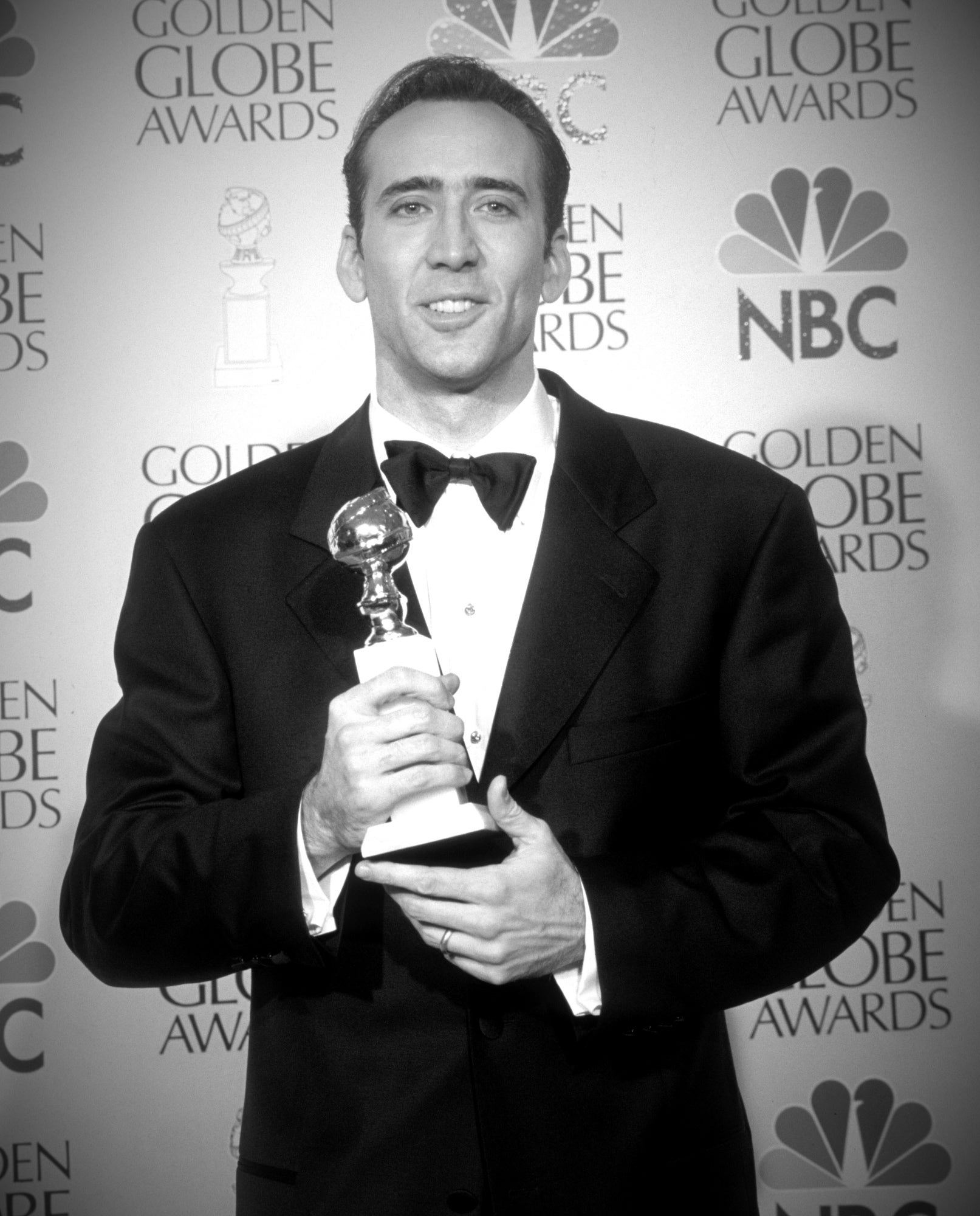 Nicolas Cage at the 1996 Golden Globes