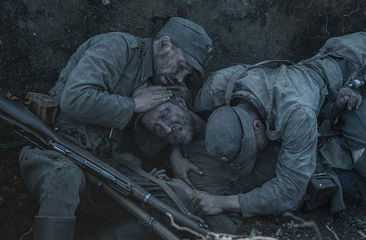 "Juho Milonoff in ""Unknown Soldier"" (2017)"