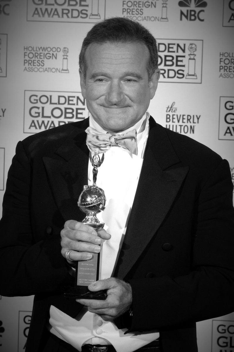Actor Robin Williams, Golden Gloeb winner and Cecil B.deMille recipient, 2005