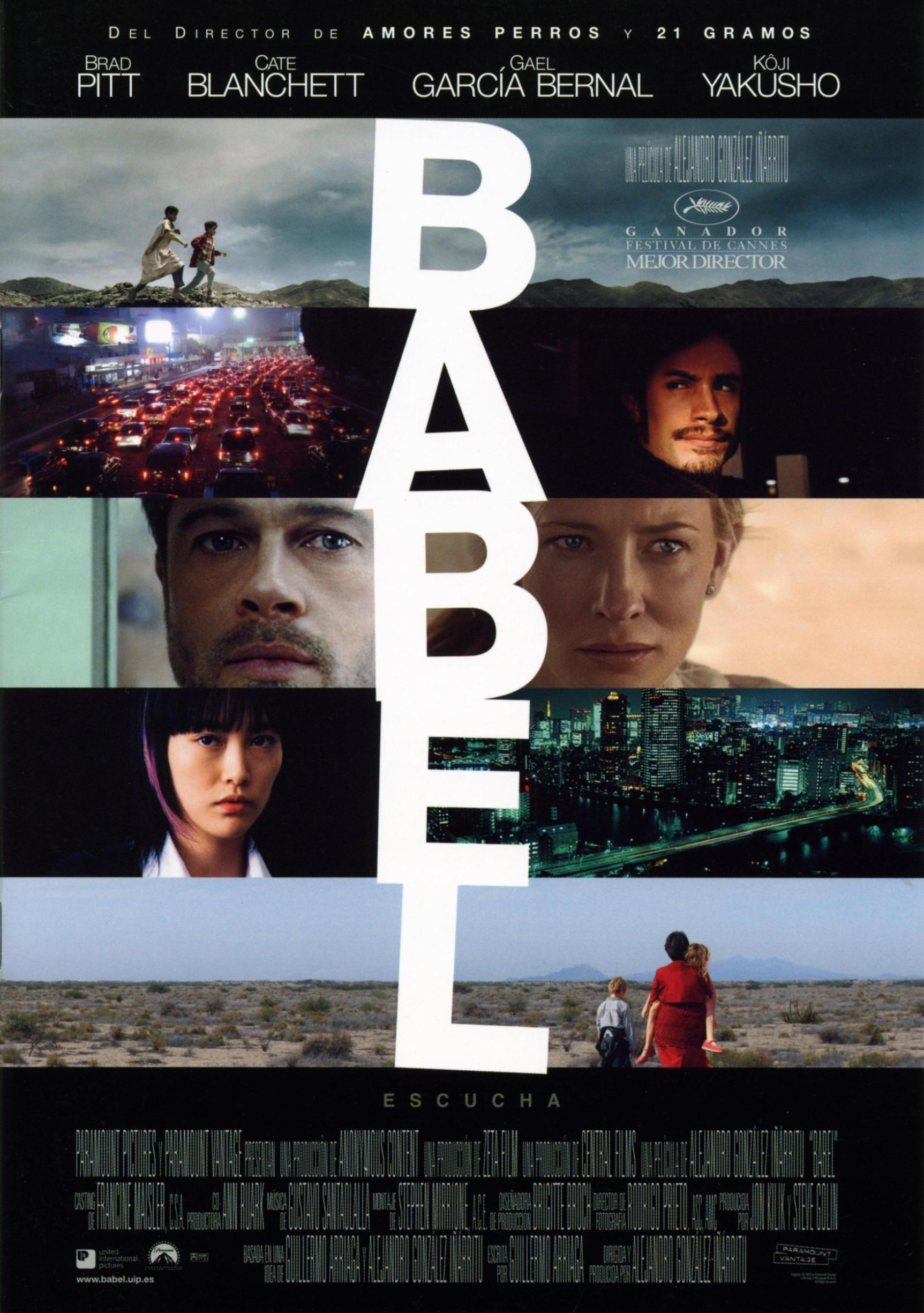 Babel movie poster