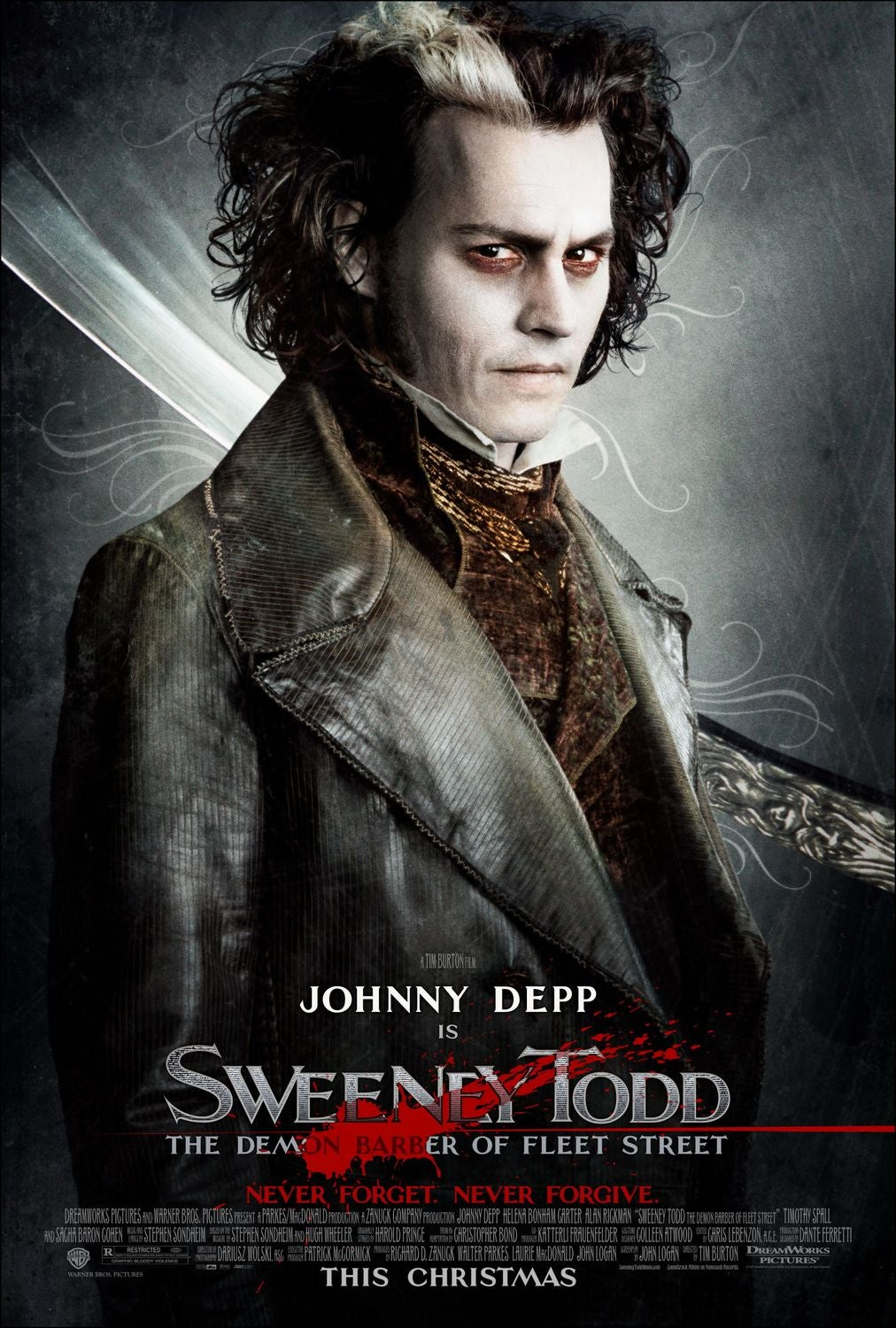 Sweeney Todd, the Demon Barber of Fleet Street movie poster