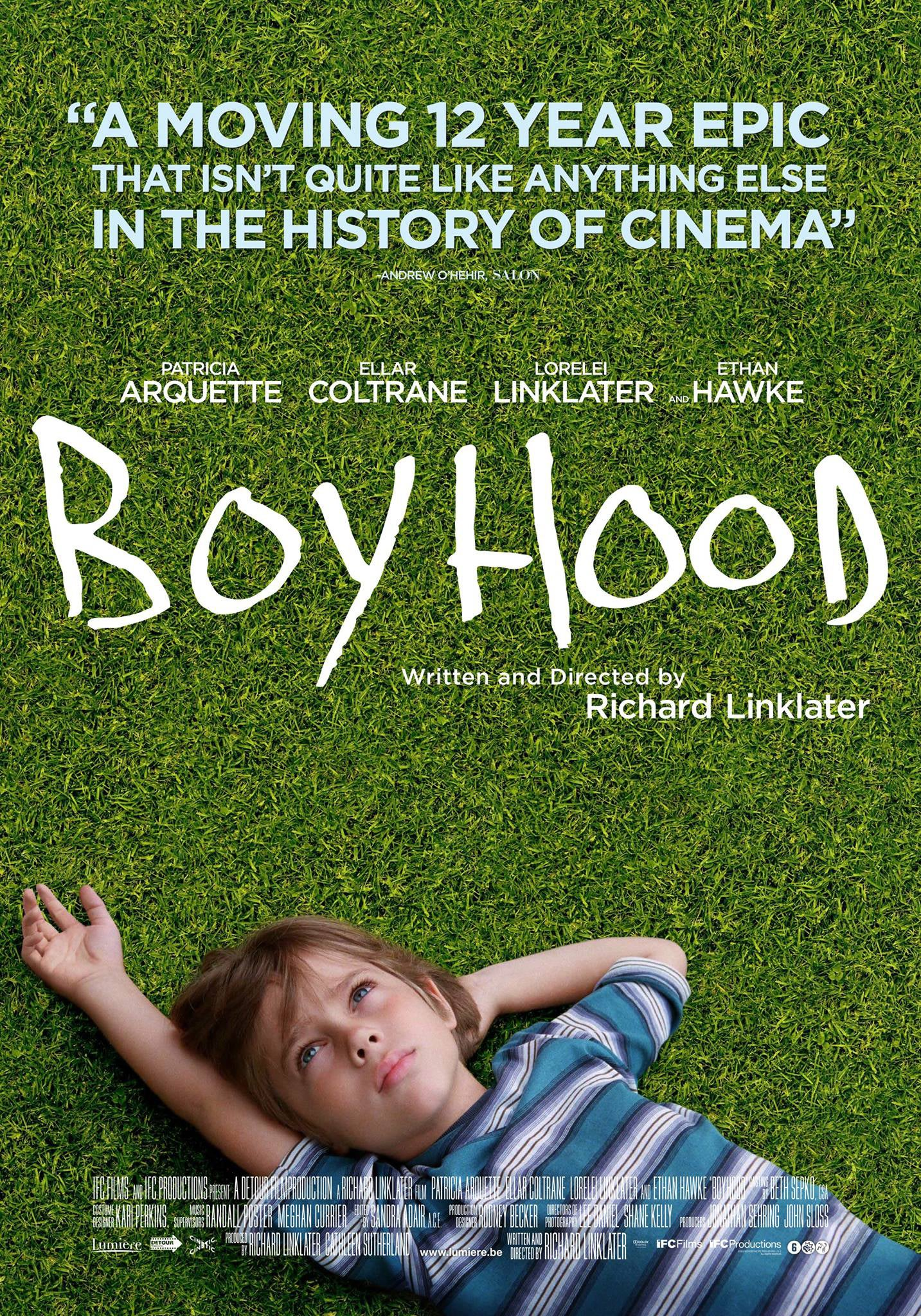2015 - Drama: Boyhood | Golden Globes