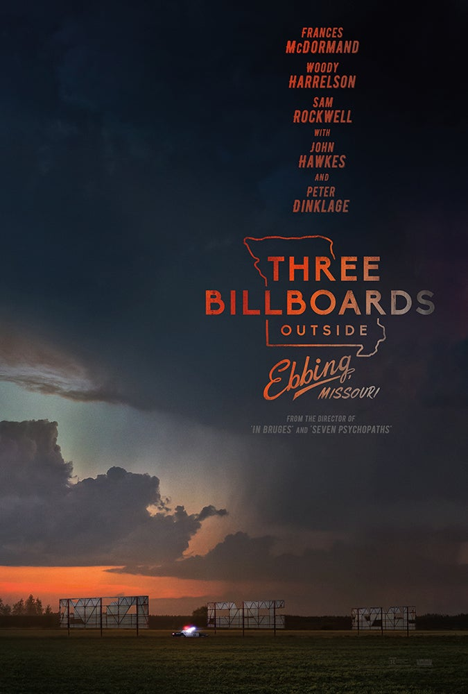 Three Billboards Outside Ebbing, Missori poster