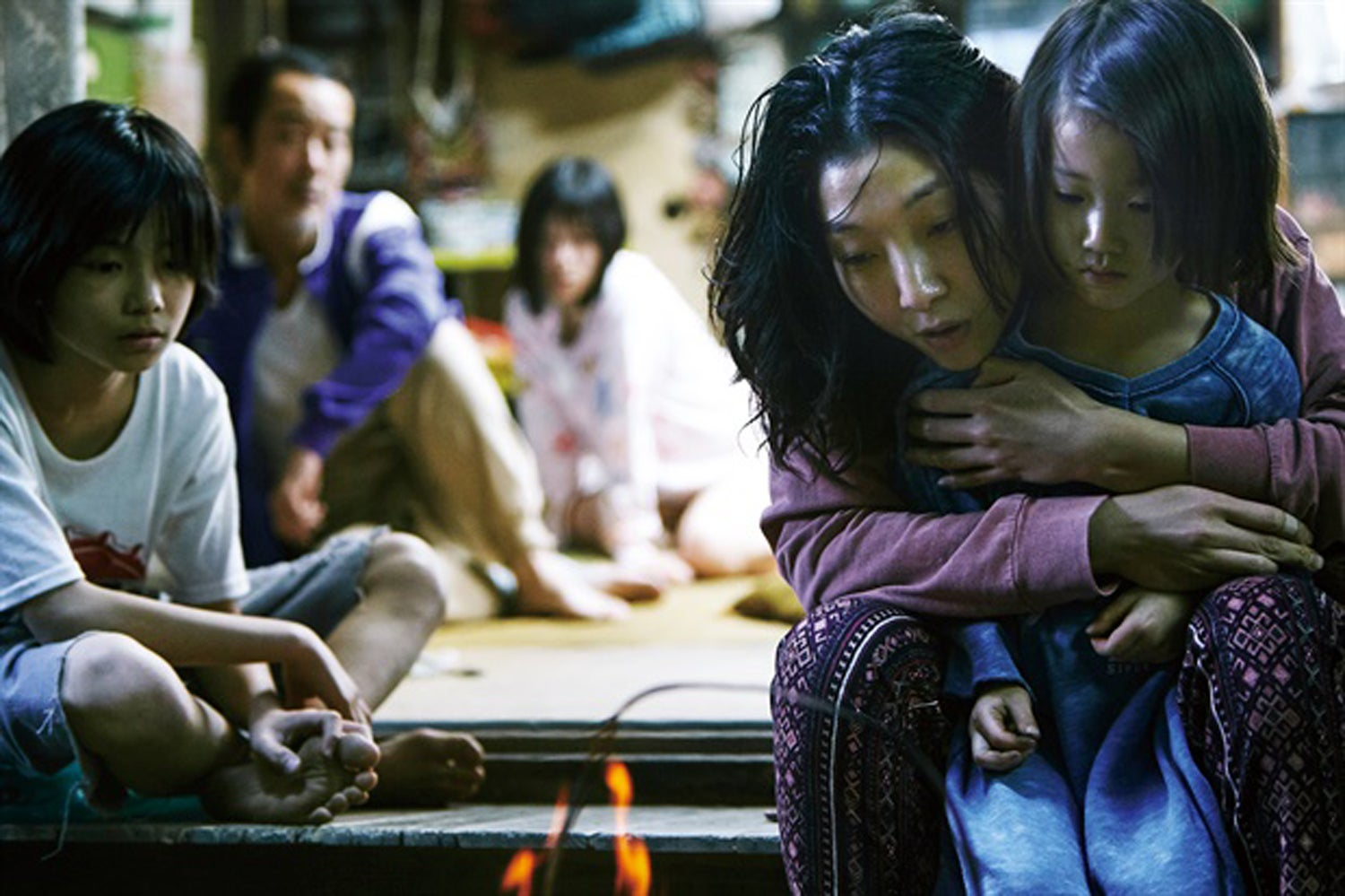 "Scene from ""Shoplifters"""