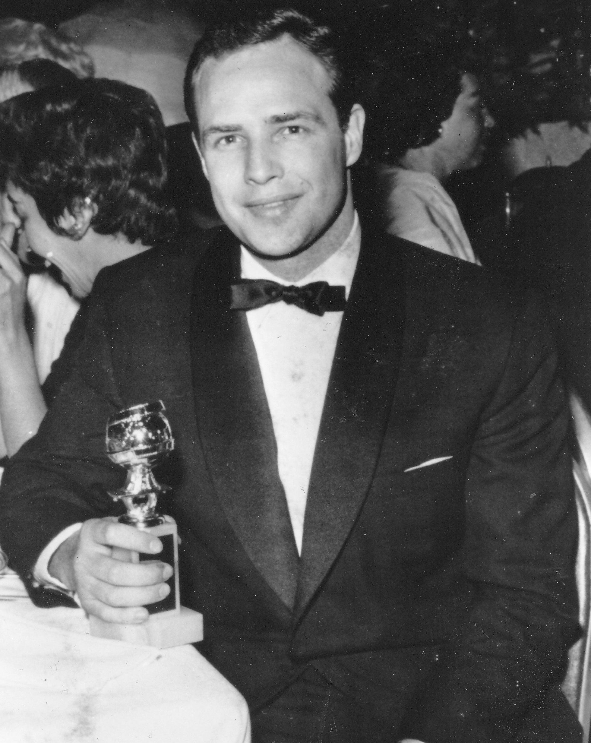 Marlon Brando , Golden Globe Winner, Best Actor, 1956