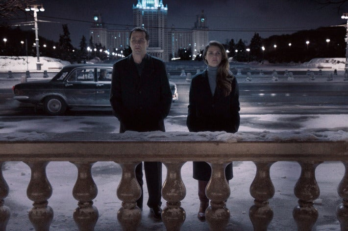 A scene from the TV series The Americans