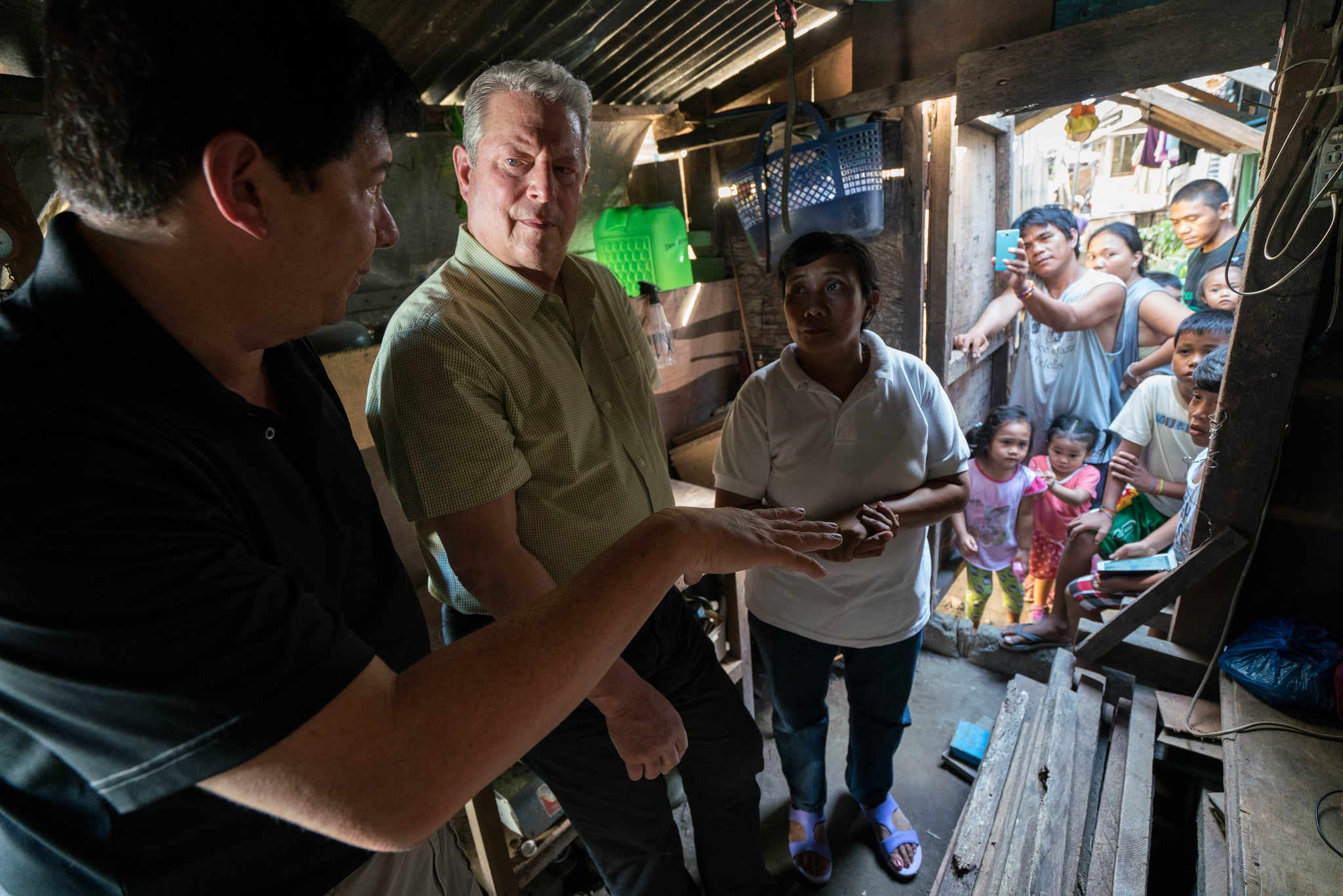 "A scene from the documentary ""An Inconvenient Sequel"", presented by Al Gore"