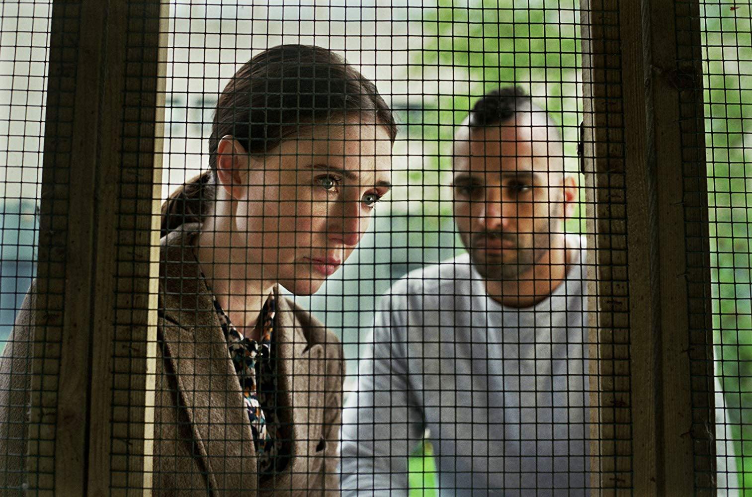 """Carice van Houten and Marwan Kenzari in """"Instinct"""" (2019)"""