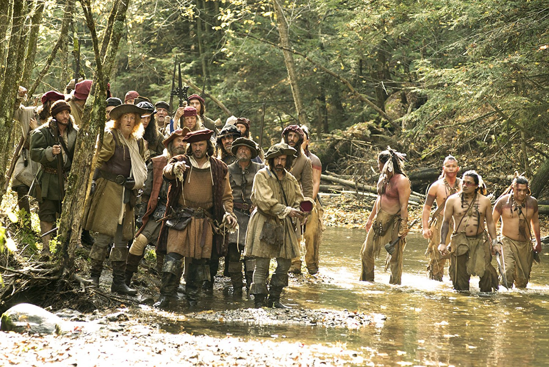 "Scene from ""Hochelaga, Land of Souls"""