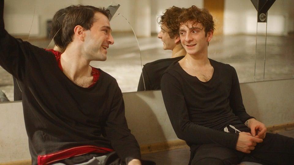 "Levan Gelbakhiani and Bachi Valishvili in ""And Then We Danced"" (2019)"