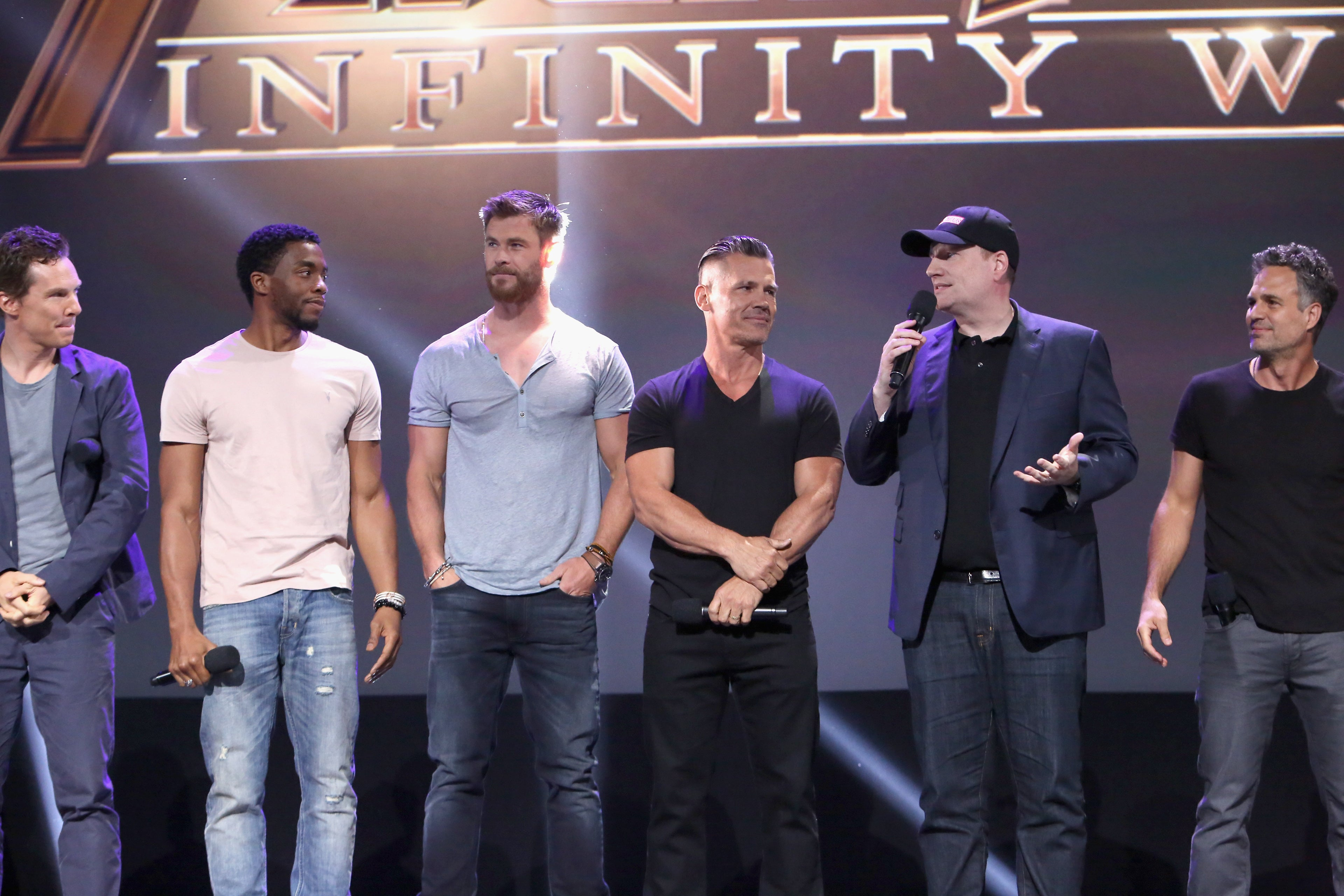 Actors of Marvel movies at D23 2017