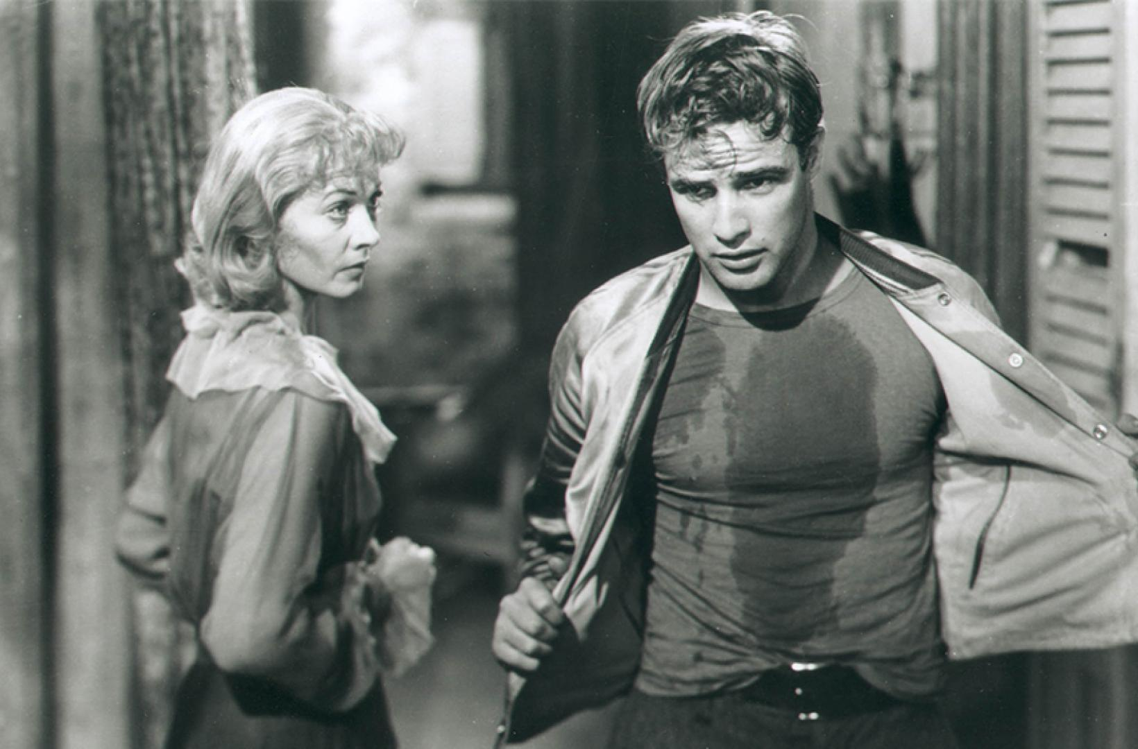 "A scene from ""A Streetcar Named Desire"", 1951"