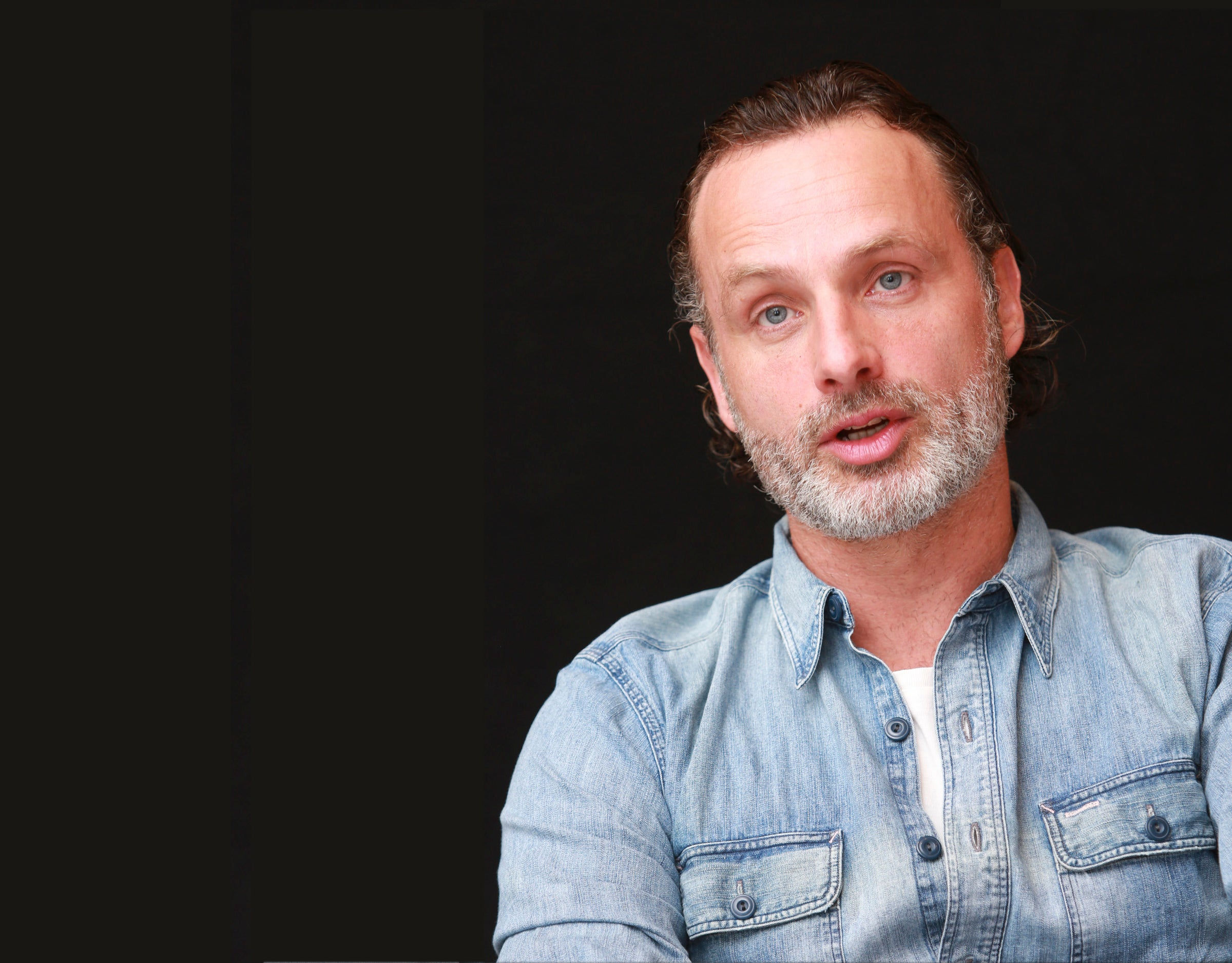 Hero Moment Comic Con 2016 Andrew Lincoln King Of The