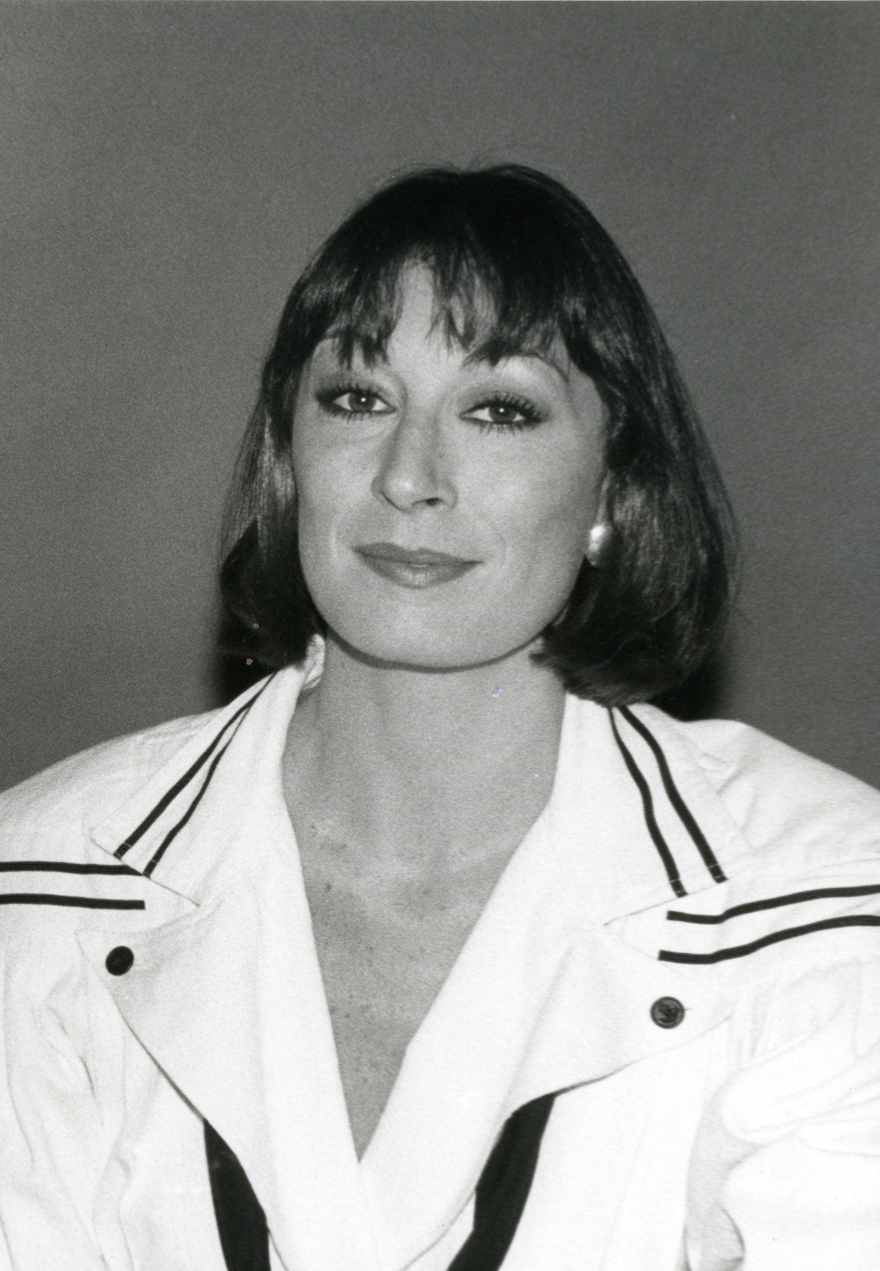 Actress and director Anjeica Huston, Golden Globe winner