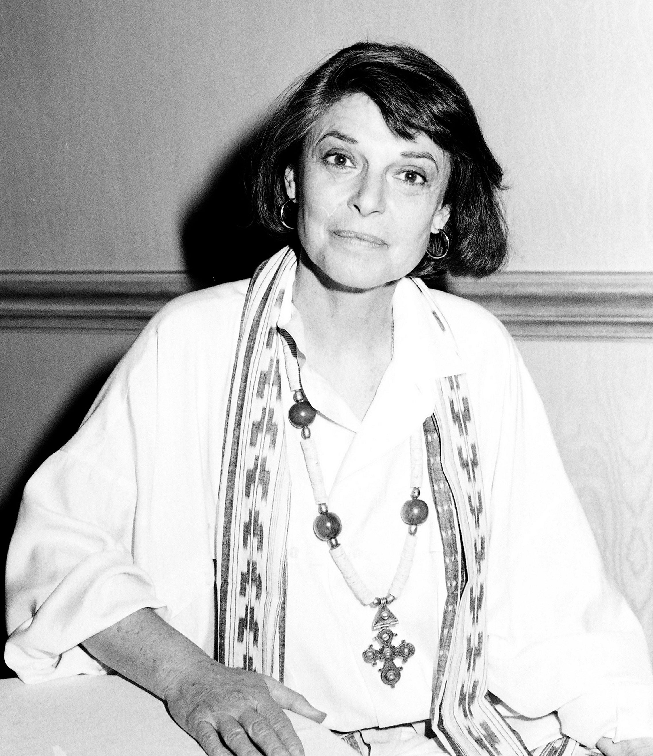 Actress Anne Bancroft, Golden Globe winner