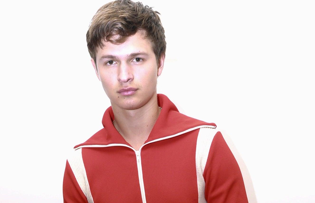 Actor Ansel Ergort