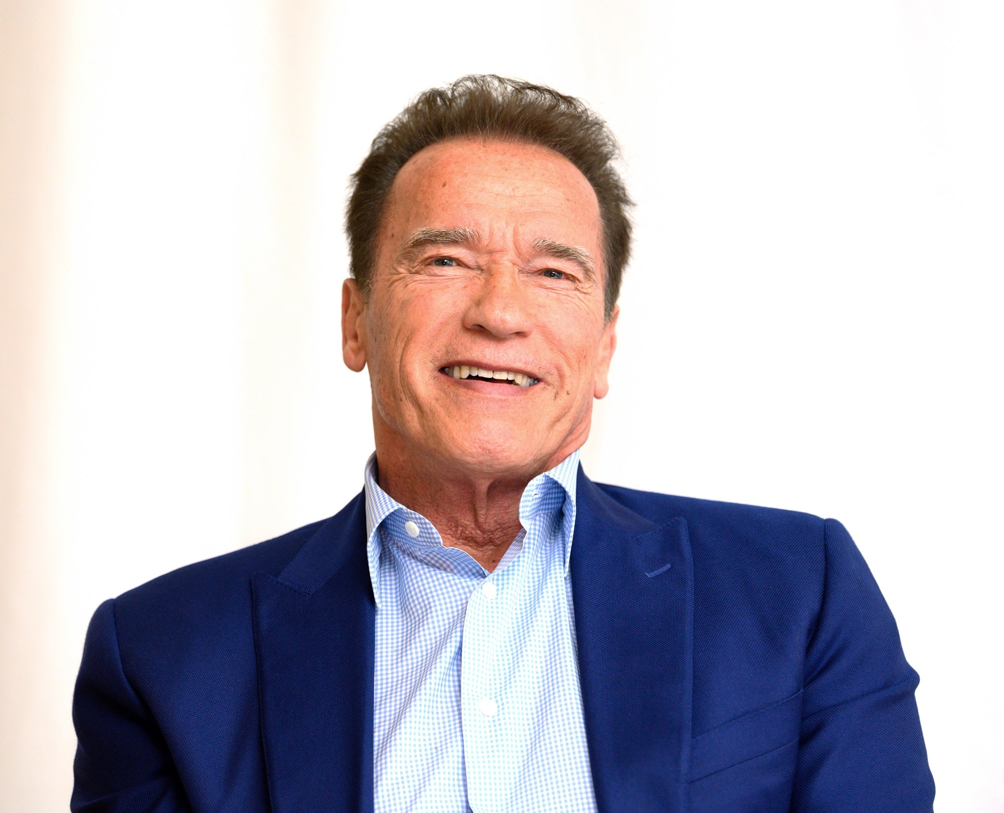Actor and producer Arnold Schwarzenegger, Golden Globe winner