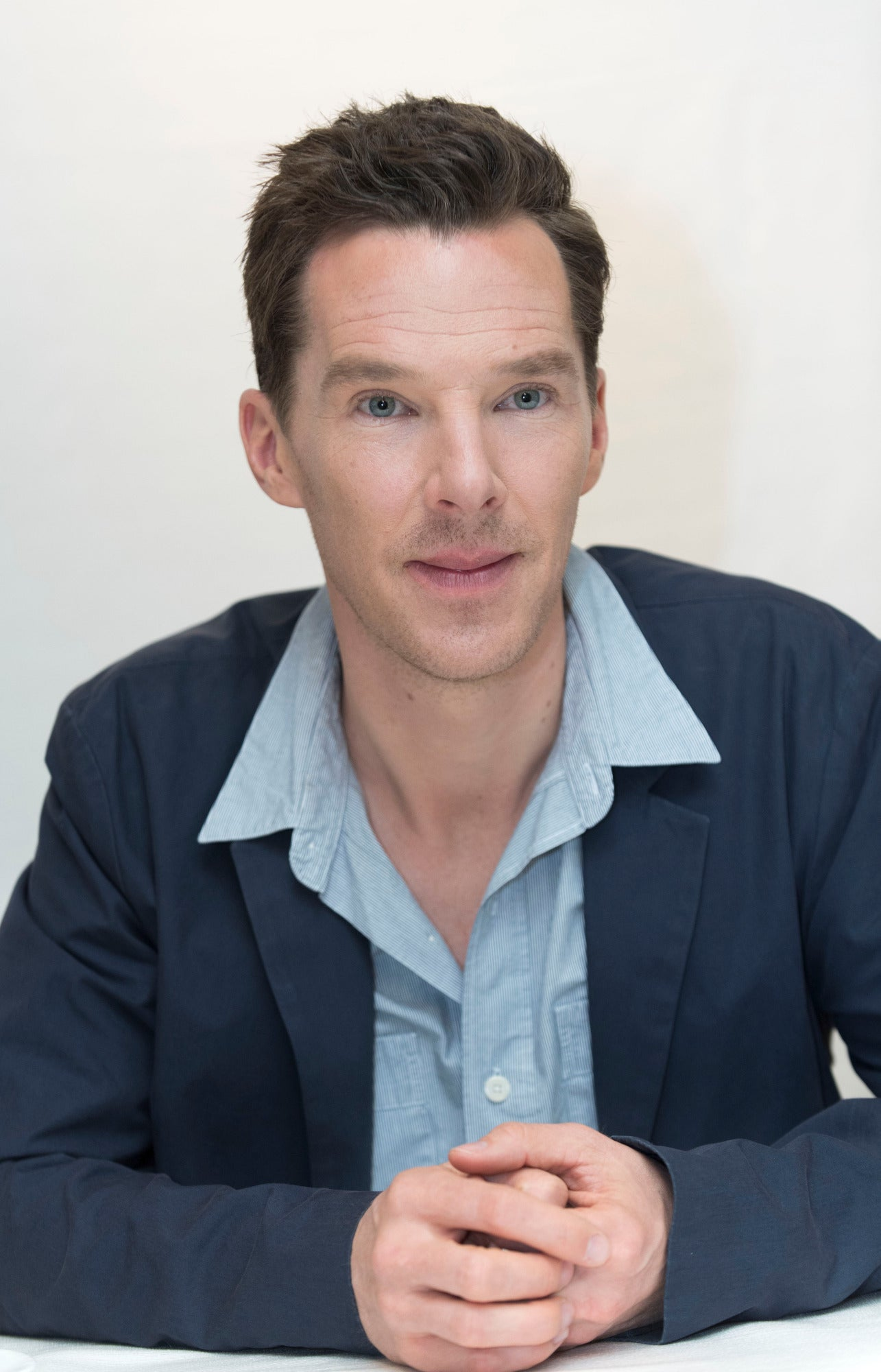 Actor Benedict Cumberbatch, Golden Globe nominee