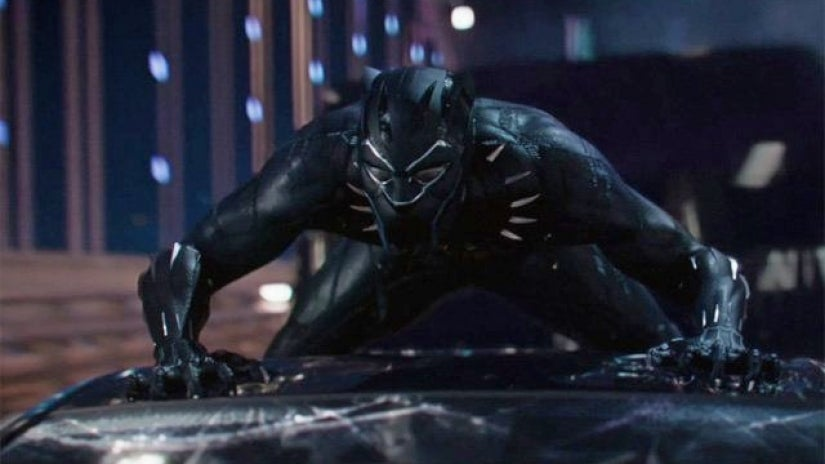 """A scene from the movie """"Black Panther"""""""
